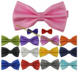 Classical Fashion Men Jacquard Plaid Bowties Wholesale pictures & photos
