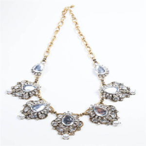 New Design Crystal Stones Pearl Point Fashion Necklace Earring Jewellery Set pictures & photos