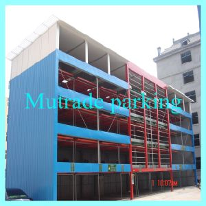 High Floor Puzzle Parking System Hydraulic Parking Garage Lift Systems pictures & photos