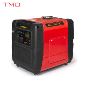 Certificated by EPA, GS, Ce 5.5kVA 5kw Electric Start, Remote Control, Inverter Generator pictures & photos