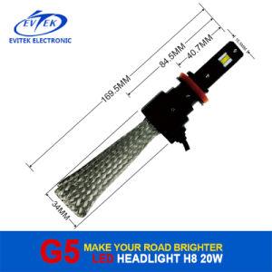 Evitek 20W 2600lm H11 Osram G5 LED Auto Headlight 6500k pictures & photos
