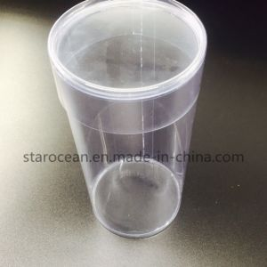Food Grade Pet Plastic Round Box Gift Packaging pictures & photos