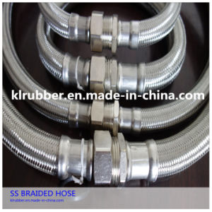 Male Thread Stainless Steel Braided Metal Hose pictures & photos