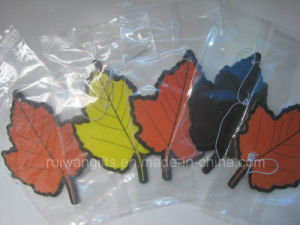 Leaf Shape Non-Alcoholic Perfume Paper Air Freshener for Car, Fragrance Car pictures & photos