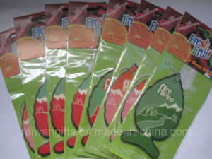 Perfume Paper Air Freshener for Car Pendant (AF003-3) pictures & photos