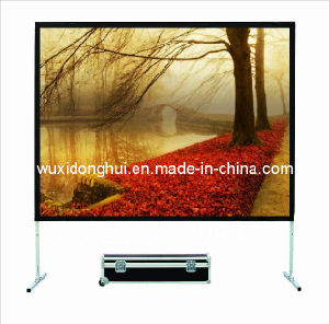 "Fast Fold 200"" (4: 3) PVC Soft Materil Projection Screen Dhffps-102"