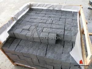 Natural Split Black Basalt Cobblestone pictures & photos