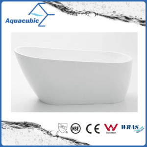 Bathroom Pure Acrylic Seamless Freestanding Bathtub (AB6507) pictures & photos