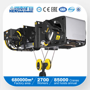 10t Electric Wire Rope Hoist, 10t Chain Hoist pictures & photos
