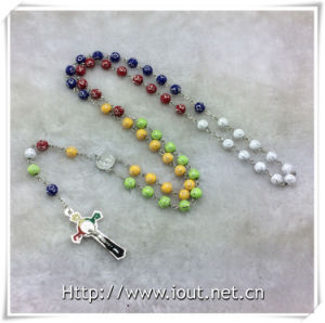 Colorful Resin Beads Rosaries, Religious Beads Rosary (IO-cr390) pictures & photos