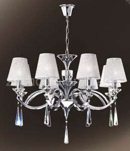 Decorative Lampshade Crystal Light Chandelier