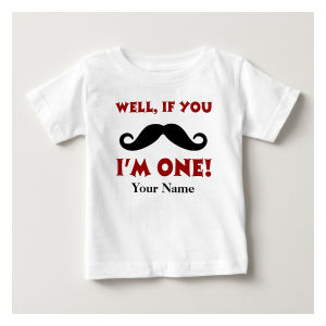 Mustache Personalized T-Shirt pictures & photos
