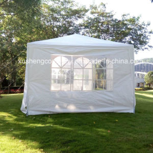 Outdoor Canopy Party Wedding Tent White Gazebo Pavilion W/Wo Side Walls pictures & photos