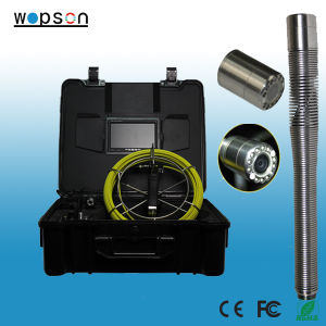 100ft/30m Push Rod Pipe Inspection Camera with Video Recording and Keyboard pictures & photos