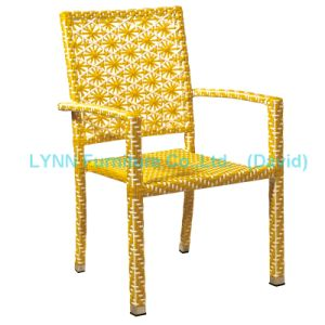 Stackable Rattan Chair for Outdoor Garden Restaurant pictures & photos