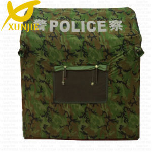 Green Camouflage Inflatable Police Tent