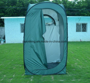Green Pop up Steel Wire Changing Tent