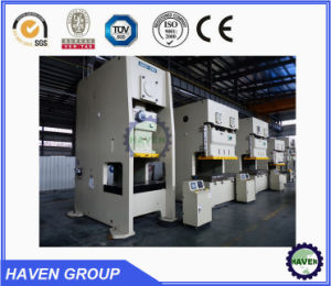 Closed door type press machine double crank high precision punch press machine pictures & photos
