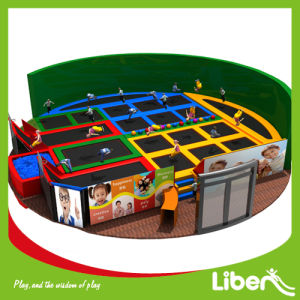 ASTM Approved Customized Indoor Trampoline for Sale pictures & photos
