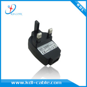 UK Power Adapter with 5V 1A for Celephone, MP3, MP4