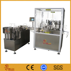 Eye Drop Filling Machine/Eyedrop Filling Stoppering Capping Machine pictures & photos