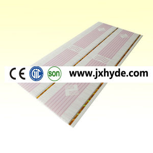 Wooden Colour Hot Stamping PVC Ceiling and Wall Panel pictures & photos