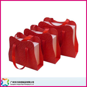 Gift Box with Ribbon Handles (XC-1-044) pictures & photos