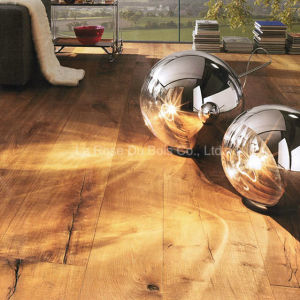 3 Layers All Oak Antique Wood Flooring/Engineered Wooden Floors (02)