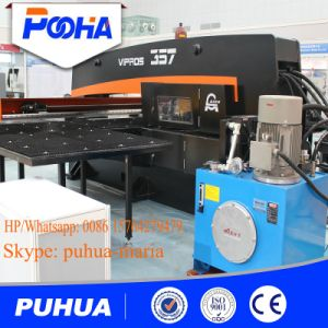 CNC Turret Punching Machine for Steel Plate Press Punch Machine pictures & photos