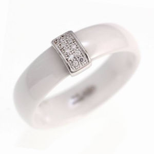 New 925 Sterling Silver Ceramic Ring Jewelry (R20003) pictures & photos
