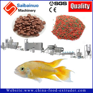 Floating Fish Food Pellet Processing Making Machinery pictures & photos
