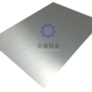 Brushed Long Line Aluminium Sheet for Cosmetic / Decoration / Nameplates (A4310)