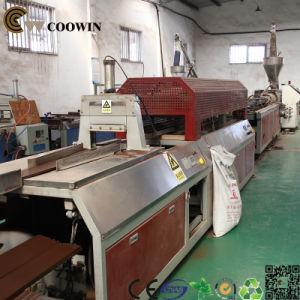 High Quality PP/PE/PVC Wood Plastic WPC Profile Production Line /PVC Extrusion Machine pictures & photos