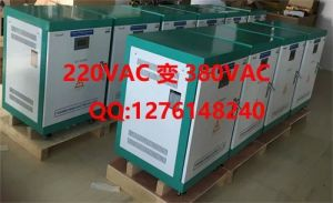 American Voltage to European Standard Voltage Solid State Frequency Converter with AC to DC to AC Output for Everything Load pictures & photos