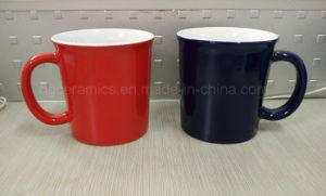 14oz Coffee Mug, 14oz Ceramic Mug, Two Tone Ceramic Mug pictures & photos