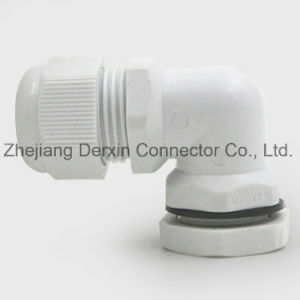NPT3/8-NPT1 High Quality Waterproof ISO Certified Elbow Cable Gland pictures & photos