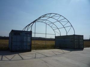 Waterproof UV Inhibitor Container Shelter Storage