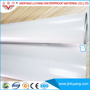 Hot Sale Singly Ply Material Flexible Homogeneous PVC Waterproofing Membrane pictures & photos