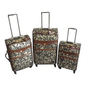 PU Leather Bags Trolley Case Luggage Jb-D011 pictures & photos