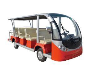 Electric Touring Bus Car 6300W 230ah Tuk Tuk Passenger Taxi pictures & photos