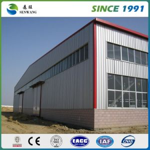 China Light Steel Structure Warehouse with EPS Sandwich Panel pictures & photos