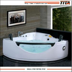 2016 Popular Design Corner Whirlpool Bathtub Tmb026 pictures & photos