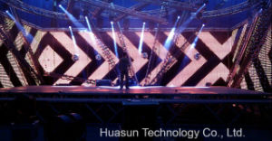 Projection Mapping of Galaxias P7.8 Soft LED Wall for Rental pictures & photos