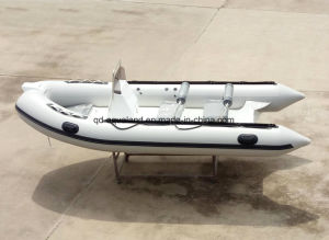 Aqualand 16feet 4.7m Rigid Inflatable Boat /Rib Fishing Boat (RIB470A) pictures & photos