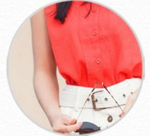 Women Polyester Chiffon Polo Shirt Fashion Blouse pictures & photos