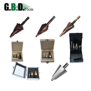 Spiral Flute Step Drill Bit HSS M35/M2 Tin Coated/Black Oxide