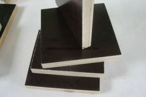 Good Flatness One Time Hot Press Film Faced Plywood From China Manufacturer pictures & photos