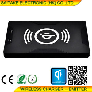Qi Universal Wireless Phone Charger Transmitter Hot Sell Promotional Gift pictures & photos