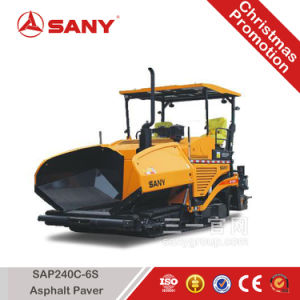 Sany Sap240c-6s Road Construction 1100 T/H 24m/Min Paving Speed Asphalt Paver Machine Price pictures & photos