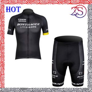2015 China Sublimation Black Cycling Team Jersey pictures & photos
